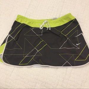 Nike Tennis Skirt with Geometric Design